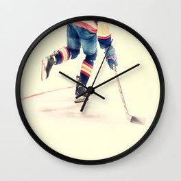 The Sport Of Hockey Wall Clock