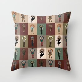 The Saints of Serenity Throw Pillow
