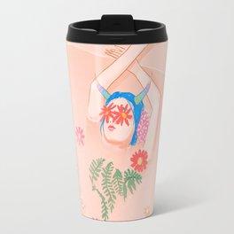 Flower Bath Travel Mug