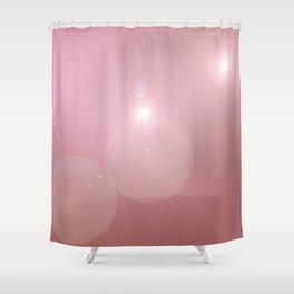 Pinkish Pastel Shower Curtain