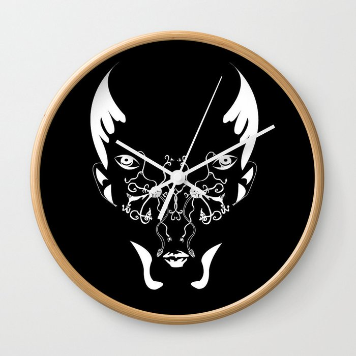 The art of Breathing  Wall Clock