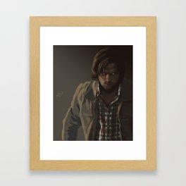 Ezekiel. Sam Winchester Framed Art Print