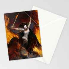 Frazetta tribute Stationery Cards