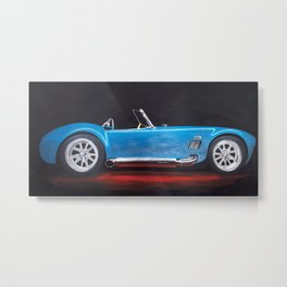 Shelby Cobra painting Metal Print