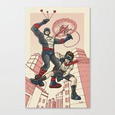 Bola and Kid Sling Canvas Print