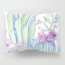 Mixed Cacti White #society6 #buyart Pillow Sham