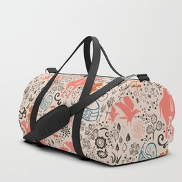 Mongolian Expanse Pattern Duffle Bag