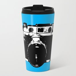 Leica in Blue Travel Mug