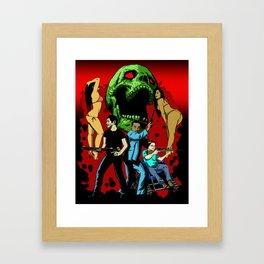 JEFFERSON AVE. VICE Framed Art Print