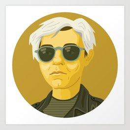 Queer Portrait - Andy Warhol Art Print
