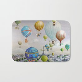 Ballooning over everywhere: Paris Bath Mat