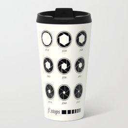 F stops chart vintage Travel Mug