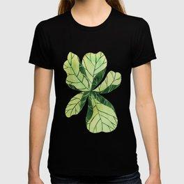 Leaf flower T-shirt