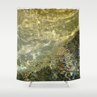the 100 Shower Curtains featuring H2O #100 by Lena Weiss