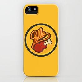 Pollo iPhone Case