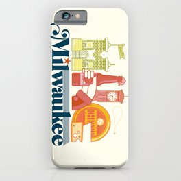 MKE ~ Milwaukee, WI iPhone Case