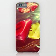 Lomo Vintage Flower Petals on Water iPhone 6s Slim Case