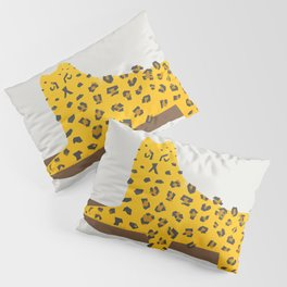 Leopard Lazy Pillow Sham