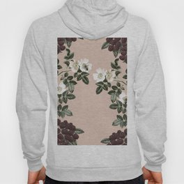 Bee Blackberry Bramble Coral Pink Hoody