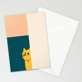 Little_Cat_Cute_Minimalism Stationery Cards