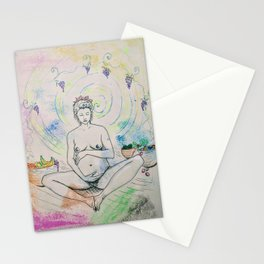 Pregnancy Serenity Stationery Cards
