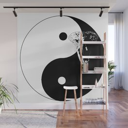 The YIN YANG ELEFANT - LIFE CURRENT series... Wall Mural