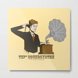 TEP Soundsystem* Metal Print