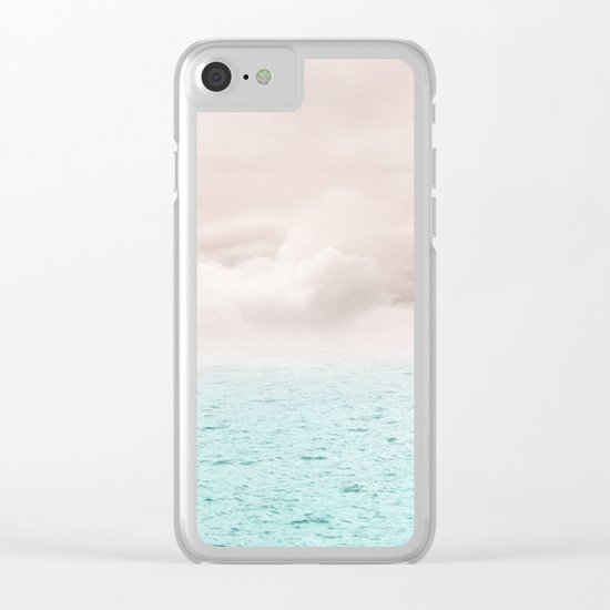 Pastel vibes 40 - Serenity Clear iPhone Case