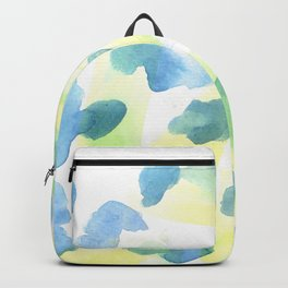 180527 Abstract Watercolour 14 | Watercolor Brush Strokes Backpack