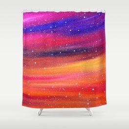 Snowy Sky Shower Curtain