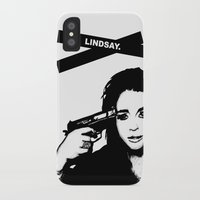 lindsay lohan iPhone & iPod Cases featuring Lindsay Lohan. by 161926