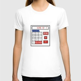 A Mistake Plus Keleven Gets You Home by Seven T-shirt