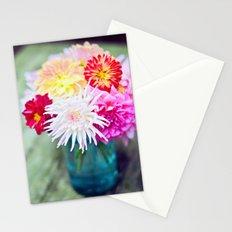Darling Dahlias II Stationery Cards