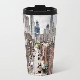 New York City Skyline (Brooklyn, Queens, Manhattan) Travel Mug