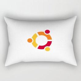 Ubuntu Linux Rectangular Pillow