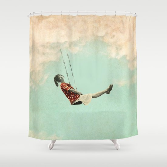 Mary's Breath of Heaven Shower Curtain