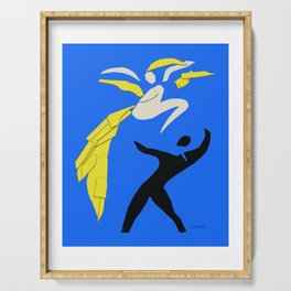 Henri Matisse Two Dancers 1937 - Cut Out Artwork Reproduction for Wall Art, Prints, Posters, Apparel Serving Tray
