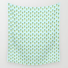 Pineapples 3.0 Wall Tapestry