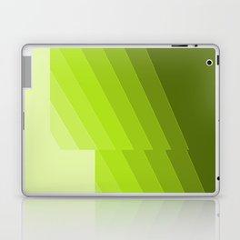 Gradient Green repetition Laptop & iPad Skin