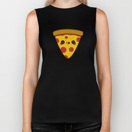 Yummy pizza Biker Tank