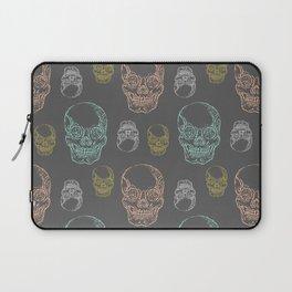 Flirty Skulls Laptop Sleeve