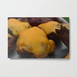 cheeseburgers Metal Print