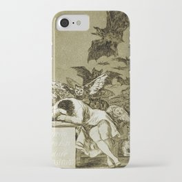 Francisco Goya - The Sleep Of Reason Produces Monsters iPhone Case