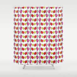 Horror Pattern #1 Shower Curtain
