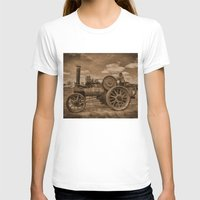 jem T-shirts featuring Vintage Jem General Purpose Engine by Avril Harris