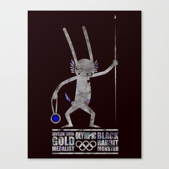 출전 CHAMPION - Olympic Dedicationg Canvas Print