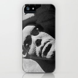 Face from Iona Abbey iPhone Case