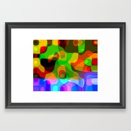 victory/concession Framed Art Print