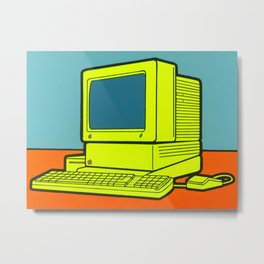 Apple IIGS Metal Print