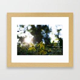 -Hope Framed Art Print